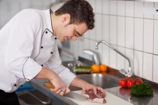 Auszubildender zum Koch