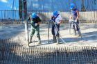 Stahlharte Nerven bei der Arbeit als Beton- und Stahlbetonbauer.