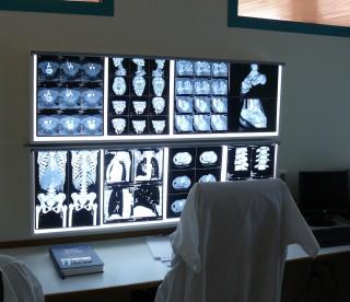 Arbeitsbereich eines Radiologieassistenten