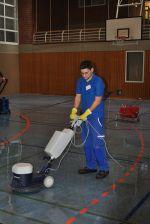 Als Gebäudereiniger müssen unterschiedlichste Oberflächen fachgerecht gereinigt werden