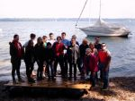 Azubi-Event: Floßbau am Starnberger See