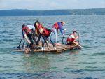 Azubi-Event: Floßbau erfolgreich!